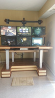 hex monitor standing desk