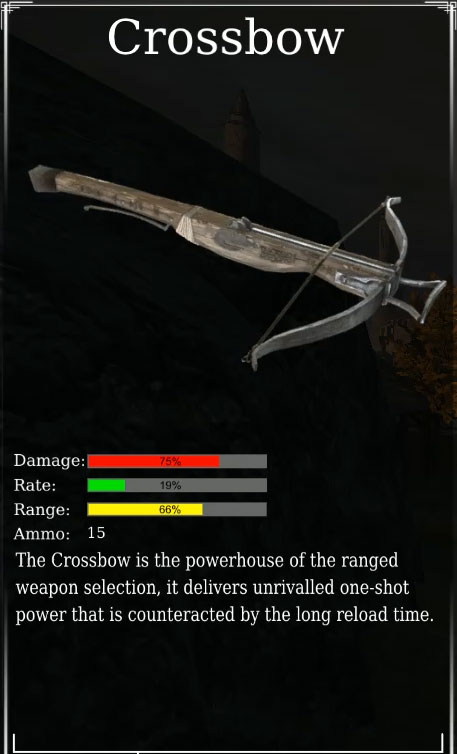 medium crossbow